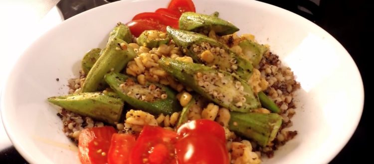 okra tempeh recipe
