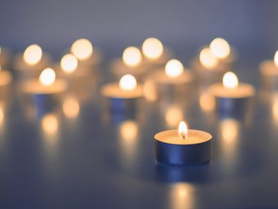 candle memorial cancer